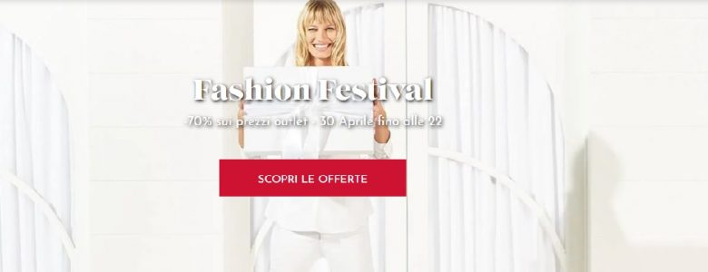 177b8de76762 Fashion Festival nei Designer Outlet