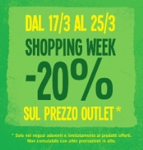 Shopping Week 2012 Palmanova Outlet