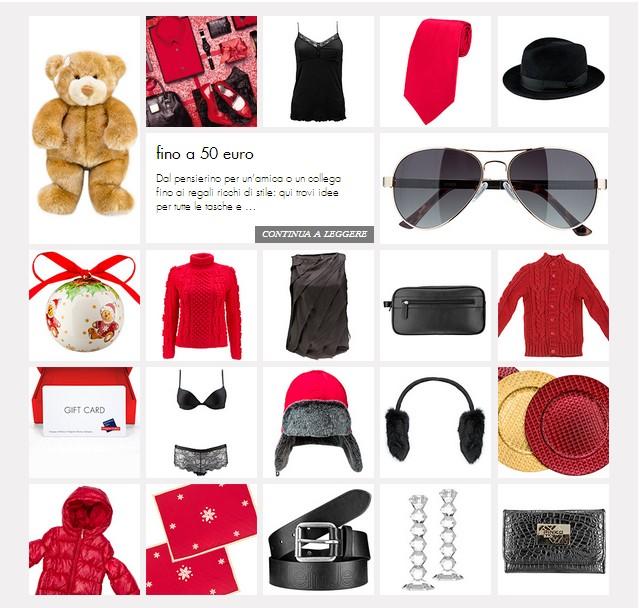 Guida regali natale 2012 nei designer outlet for Siti di regali