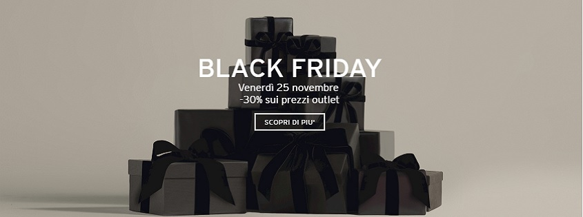 Black Friday nei Designer Outlet | Outlet Village