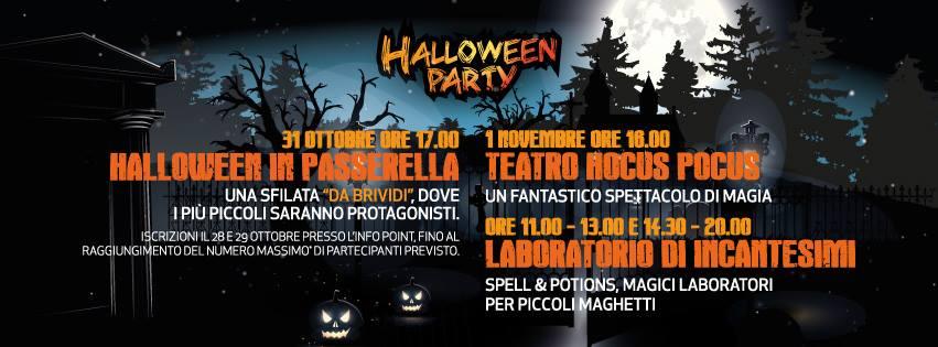 Perche Non Festeggiare Halloween.Halloween Al Valmontone Outlet Outlet Village